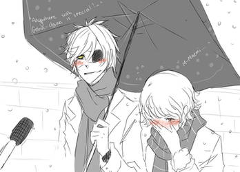 Snow Interveiw MaemiXAgeha by MisterUrufu