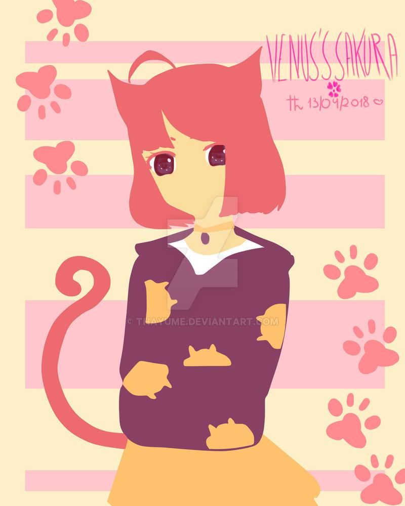 Cat :v by Thayume