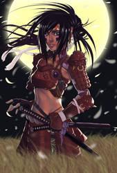 Moonlight Samurai by DJOK3