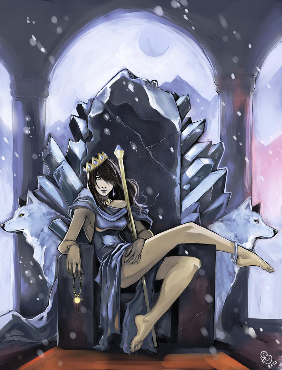 The Snow Princess by DJOK3