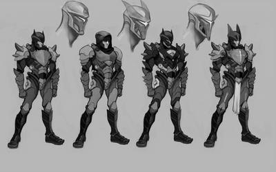 Character Design Sketch by DJOK3
