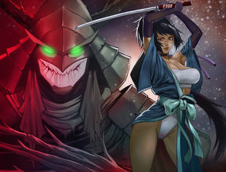 Samurai Of OZ 2 cover by DJOK3