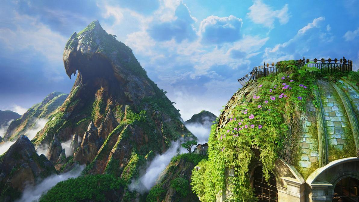 Uncharted 4 Scenic Shot 1 by Fidgetyknickers