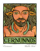 Cernunnos by ThaliaTook