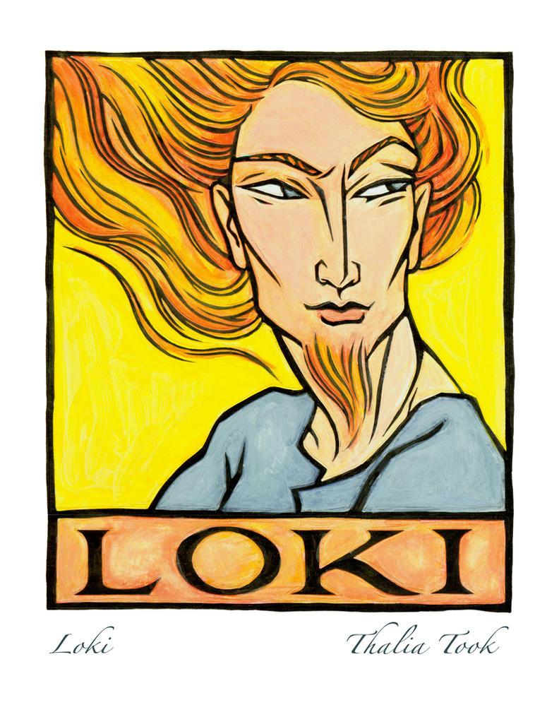 Loki by ThaliaTook