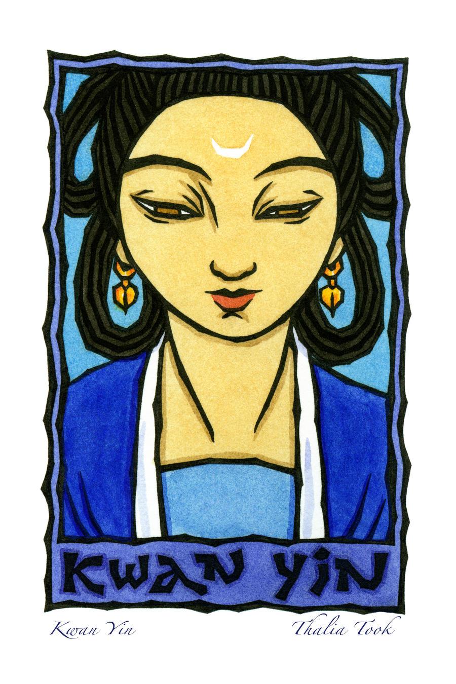 Kwan Yin by ThaliaTook