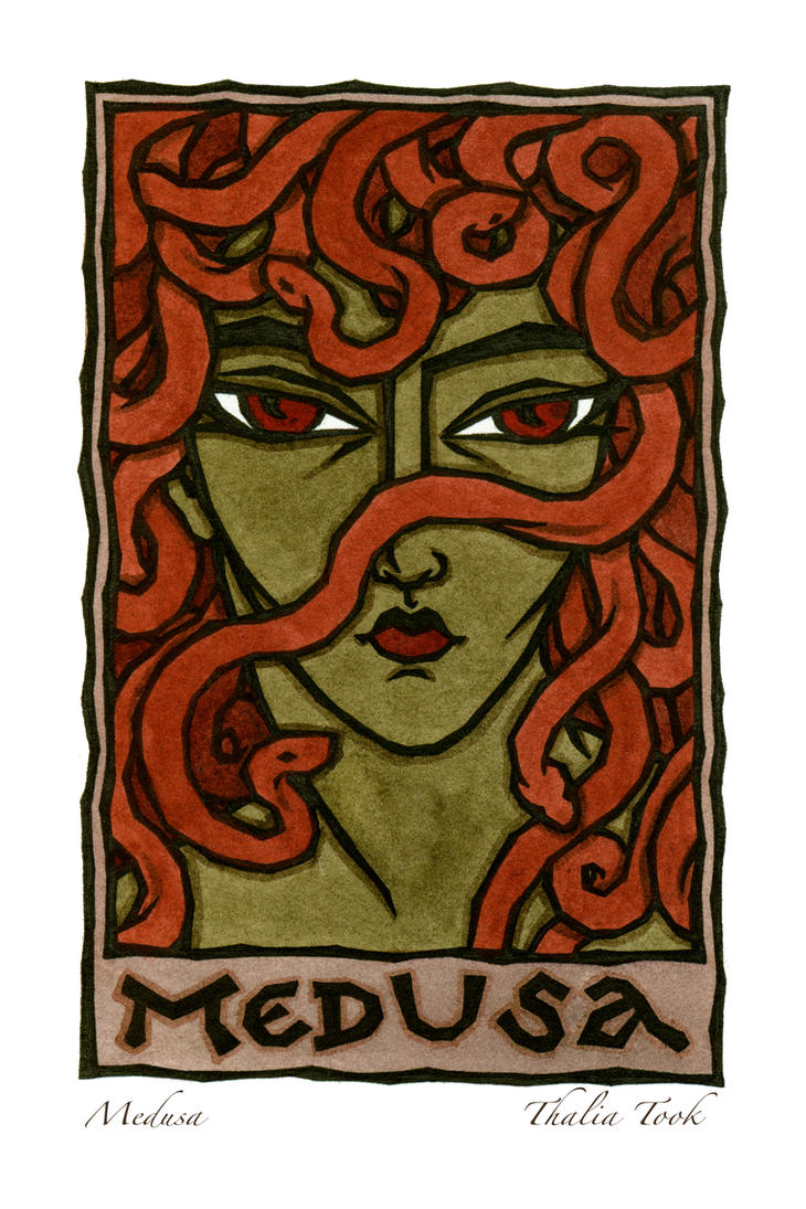 Medusa by ThaliaTook