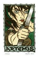 Artemis by ThaliaTook