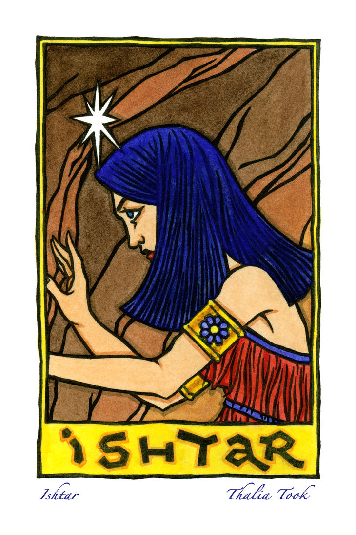 Ishtar by ThaliaTook