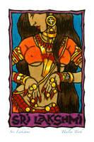 Sri Lakshmi by ThaliaTook