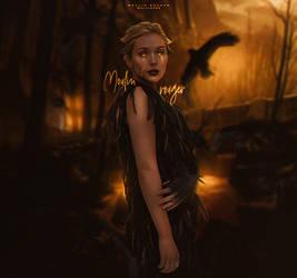 raven queen. by wolvlevan
