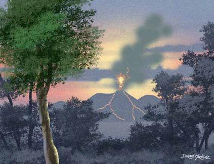 Volcan Vivo by iizzyy174