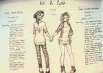Cici and Leia - OC info by SoapyCookie