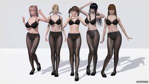 DoA Girls - Line Up