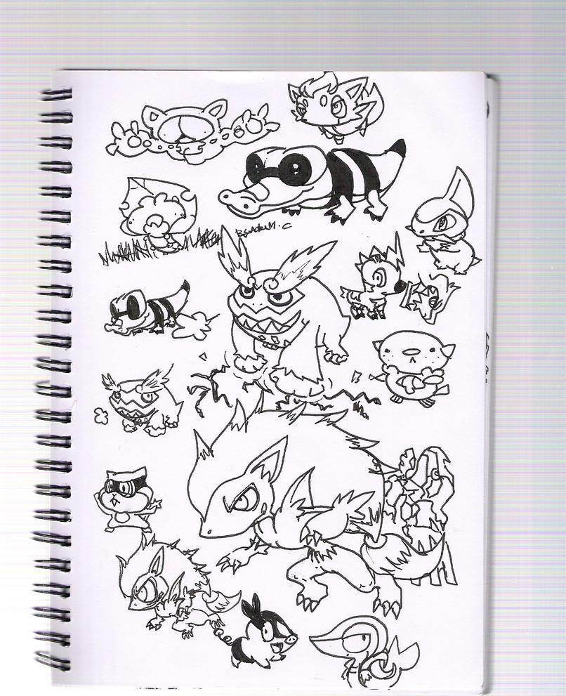 pokemon new gen by Dscapades