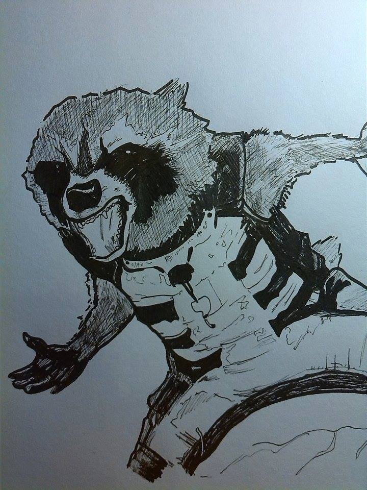 Rocket Raccoon by Dscapades