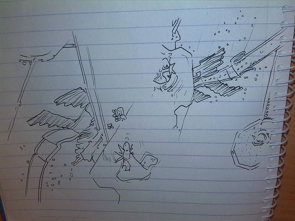 journey sketch 1 by Dscapades