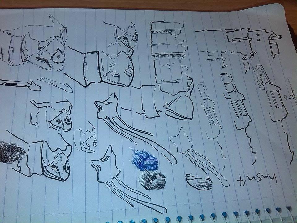 Journey sketch 2 by Dscapades