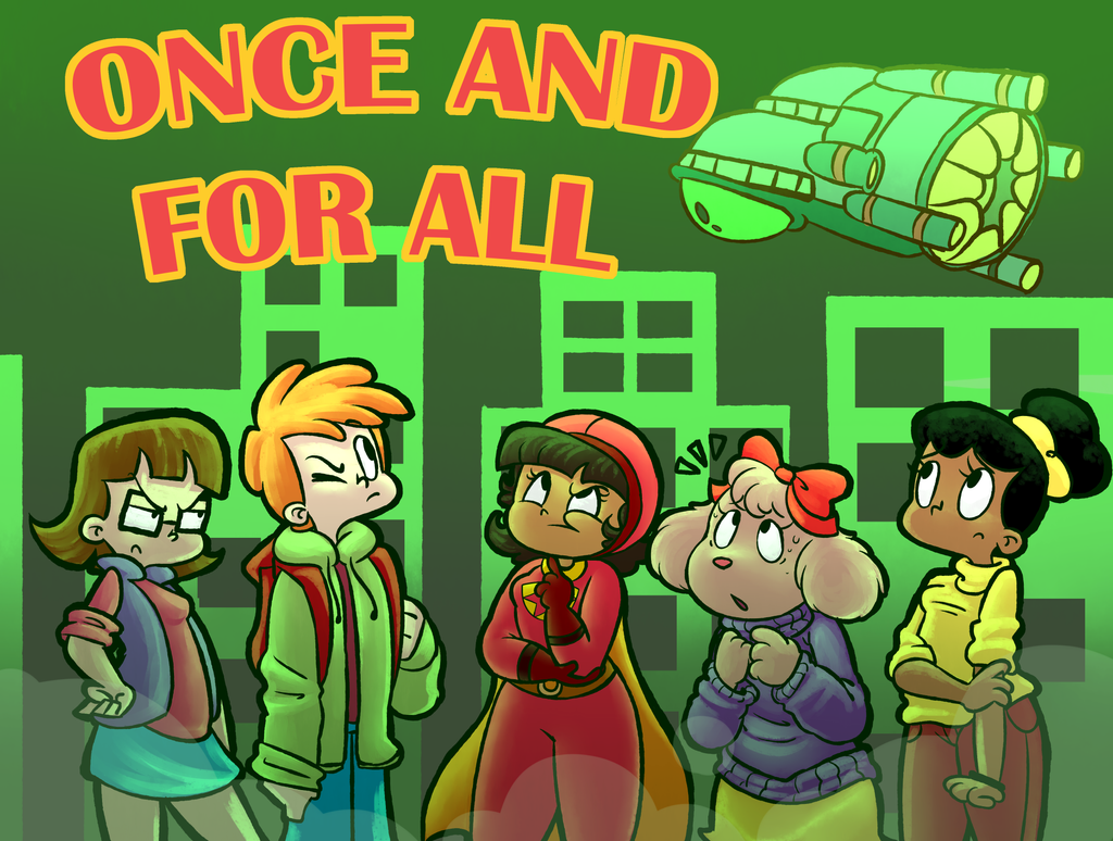 Once and For All - Title Card by RecklesslyMindful