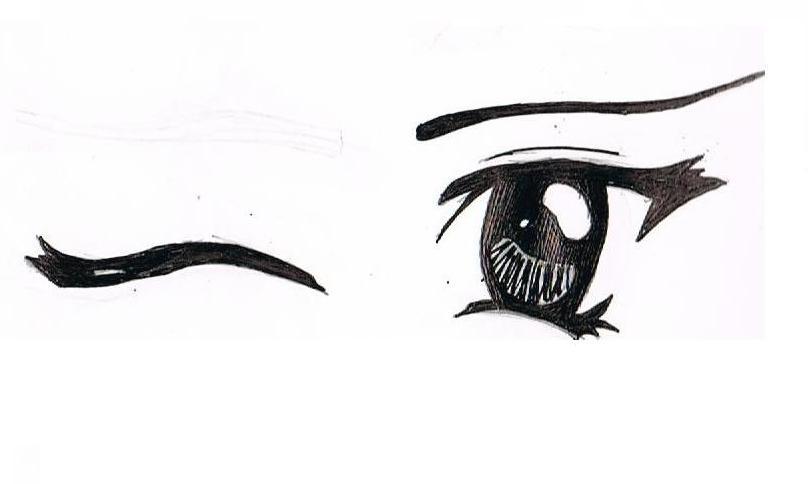 how to draw kawaii anime eyes