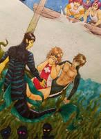 Siren x Lifeguard by Nebulamon