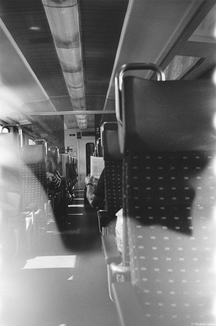 Film - XCVIII - from work by train by Picture-Bandit