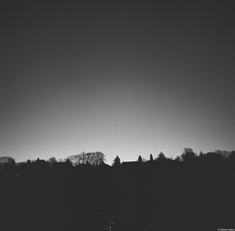 Gamma - Ilford - sunrise in black and white by Picture-Bandit