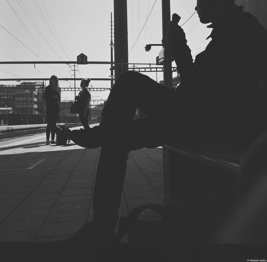Ennea - Ilford - station life by Picture-Bandit