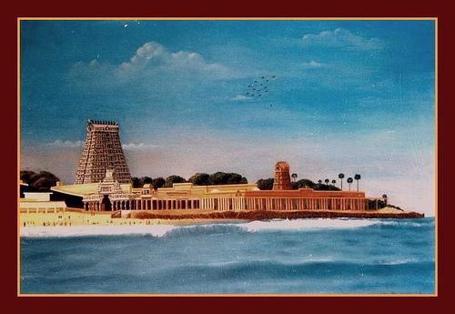 Temple in Tamil Nadu by MPKumar