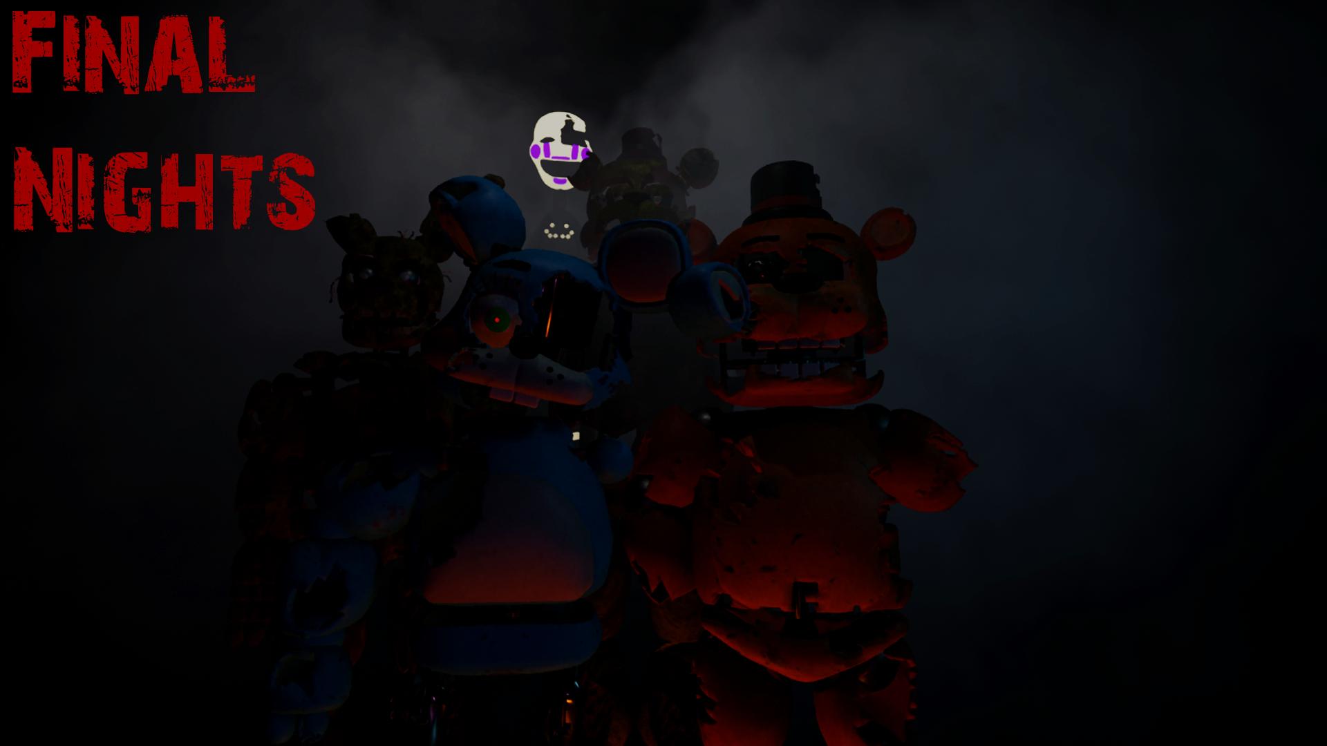 Final Nights - WALLPAPER [UE4] : fivenightsatfreddys