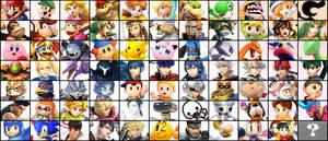 Super Smash Bros 5 roster by hiimdaisyprincess