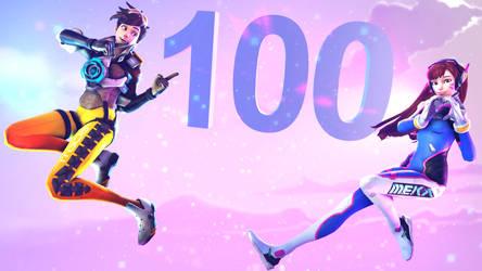 100 WATCHERS!!! by Jester5728