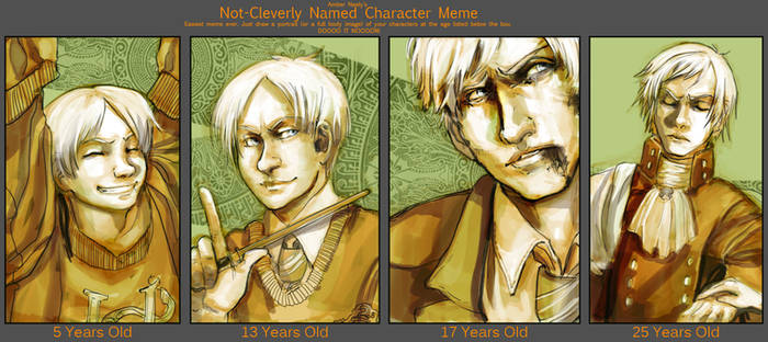 Age meme - HP - Malfoy by oneoftwo