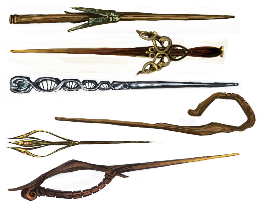 Hp wand designs 2 by oneoftwo on deviantart - Coole wanddesigns ...