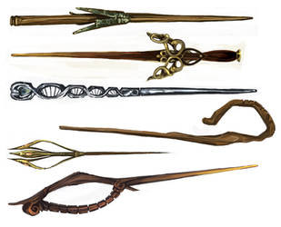 HP - Wand designs - 2 by oneoftwo