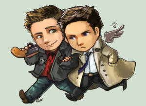 Comish - FC - Dean and Cas