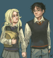 FC - Harry and Luna by oneoftwo