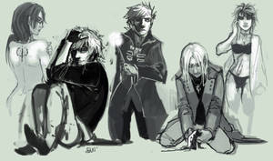 HP universe - Sketches