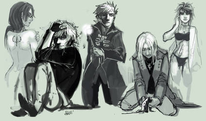 HP universe - Sketches by oneoftwo