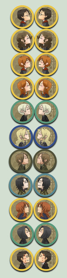 Kissing HP buttons