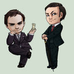 Moriarty and Mycroft