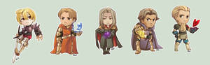 Comish - Final Fantasy Tactics