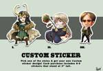 Custom Stickers!