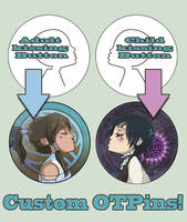 CUSTOM OTPins! by oneoftwo