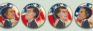 Obamney OTPins by oneoftwo