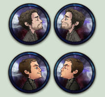 Comish OTPins Crowley and Chuck