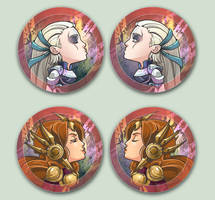 Comish OTPins Diana Leona by oneoftwo