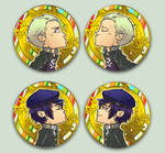 Comish - OTPins KanjixNaoto by oneoftwo