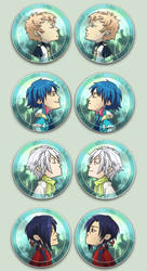 Dramatical Murder Otpins by oneoftwo