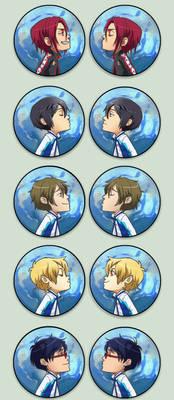 Swimming anime Otpins